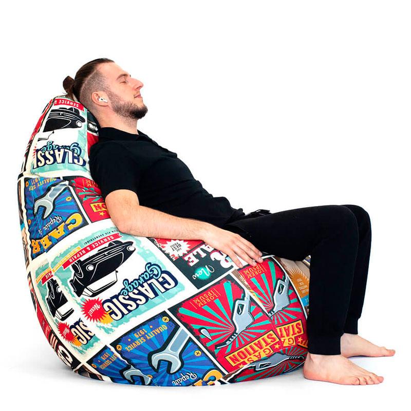 """Кресло-мешок БОСС """"Гараж"""""""