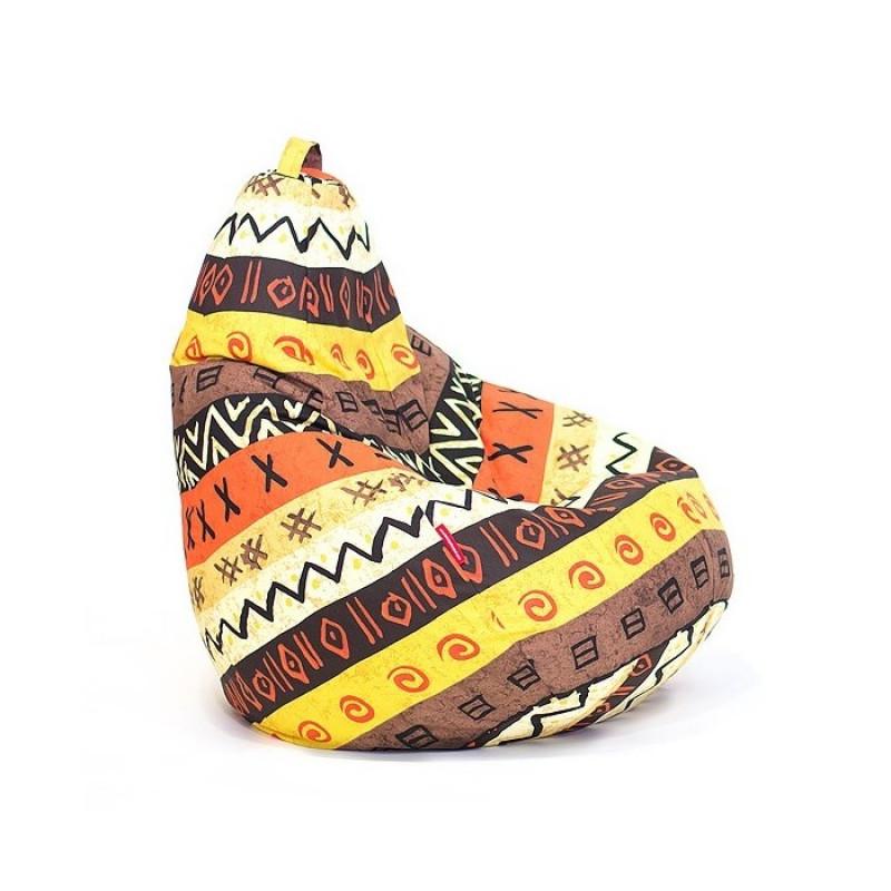 """Кресло-мешок Классик """"Африка"""""""