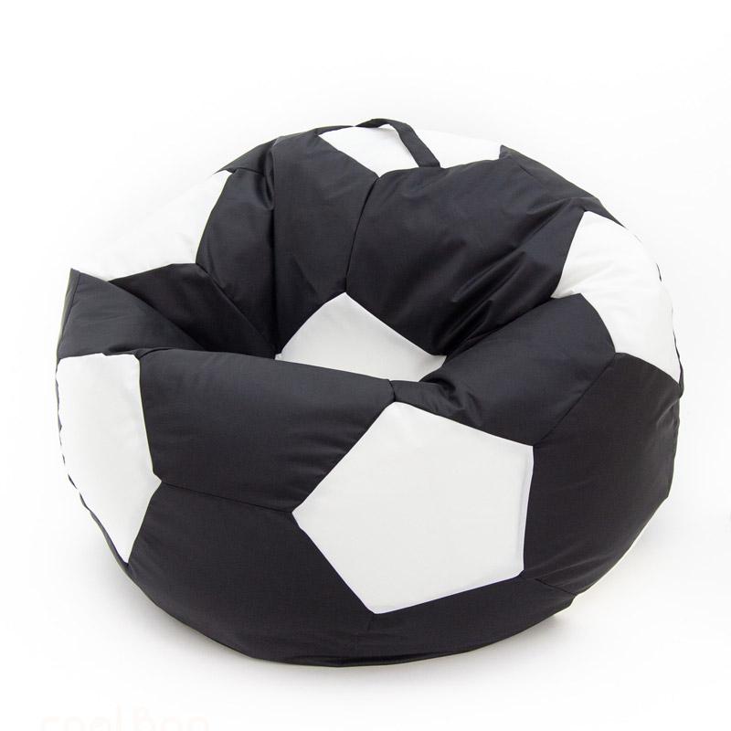 Кресло-мяч чёрно-белый 100 см