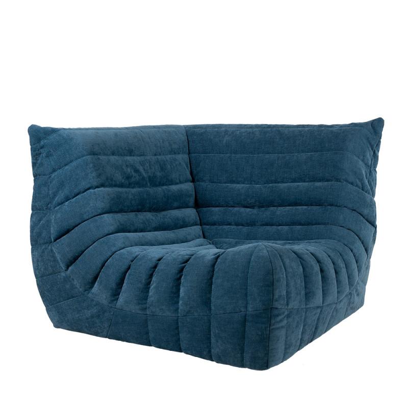 """Дизайнерское кресло """"Чиллаут Угловой Марсель Индиго"""""""