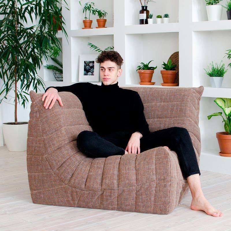 """Дизайнерское кресло """"Чиллаут Угловой Токио"""""""