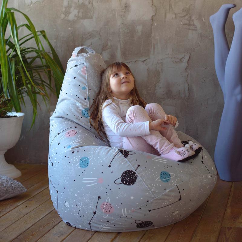 """Детское кресло-мешок """"Космикс"""""""