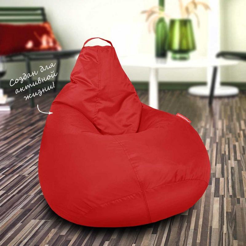 """Кресло-мешок Студент """"Красный"""" (1 чехол)"""